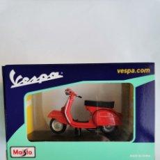 Motos em escala: VESPA MAISTO GTR (1968) ROJA SIN ABRIR. Lote 242089200