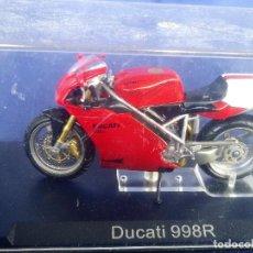 Motos a escala: DUCATI 998R - ESC 1:24 *ALTAYA* EN CAJA COLECCION GRANDES MOTOS DE COMPETICION. Lote 243794065
