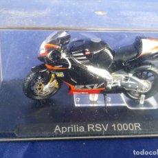 Motos a escala: APRILIA RSV 1000R - ESC 1:24 *ALTAYA* EN CAJA COLECCION GRANDES MOTOS DE COMPETICION. Lote 243794245