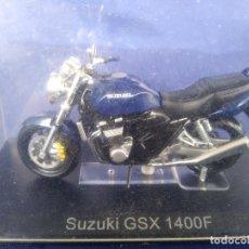 Motos a escala: SUZUKI GSX 1400F ESC 1:24 *ALTAYA* EN CAJA COLECCION GRANDES MOTOS DE COMPETICION. Lote 243842725