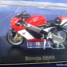 Motos a escala: BIMOTA SB8R ESC 1:24 *ALTAYA* EN CAJA COLECCION GRANDES MOTOS DE COMPETICION. Lote 243843020