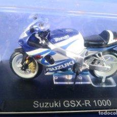 Motos a escala: SUZUKI GSX-R 1000 ESC 1:24 *ALTAYA* EN CAJA COLECCION GRANDES MOTOS DE COMPETICION. Lote 243843090