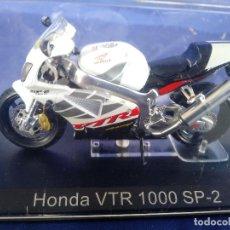 Motos a escala: HONDA VTR 1000 SP-2 ESC 1:24 *ALTAYA* EN CAJA COLECCION GRANDES MOTOS DE COMPETICION. Lote 243843215