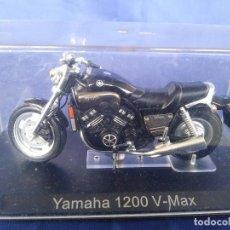 Motos a escala: YAMAHA 1200 V-MAX ESC 1:24 *ALTAYA* EN CAJA COLECCION GRANDES MOTOS DE COMPETICION. Lote 243843280
