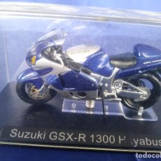 Motos a escala: SUZUKI GSX R 1300 HAYABUSA ESC 1:24 *ALTAYA* EN CAJA COLECCION GRANDES MOTOS DE COMPETICION. Lote 243843350