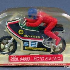 Motos em escala: MOTO BULTACO MINIATURAS GUISVAL REF 04003 NUEVA EN BLISTER. Lote 244546565