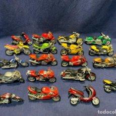 Motos a escala: LOTE 19 MOTOS MARCA MAISTO 6 MOTOS REPUESTOS VER FOTOS. Lote 245354315