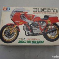 Motos a escala: MAQUETA NUEVA PRECINTADA - DUCATI 900 NCR RACER - TAMIYA 1983 - 1/12 TH SCALE - PORTES GRATIS. Lote 245527550