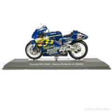 Motos a escala: SUZUKI RGV500 KENNY ROBERTS JR 2000 1:18 IXO SALVAT DIECAST MOTO GP. Lote 245536690