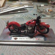 Motos a escala: MOTO ESCALA HARLEY DAVIDSON MAISTO MIREN FOTOS. Lote 269751998
