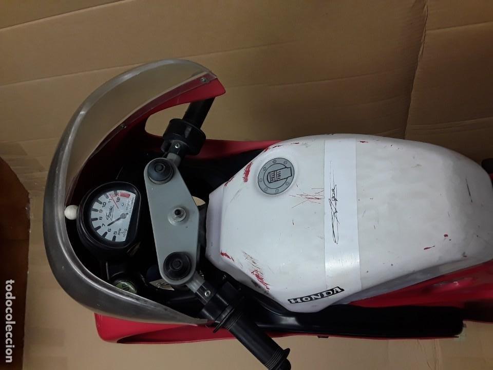 Motos a escala: Moto carreras Aspar honda 125 cobas, réplica eléctrica, antigua. - Foto 4 - 248812575