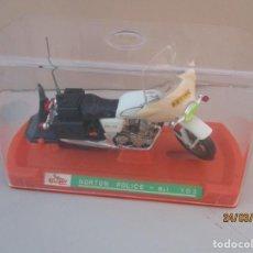 Motos in scale: GUILLOY MOTO NORTON DE POLICIA REF :103 ESCALA 1/12 MADE IN SPAIN. Lote 251063480