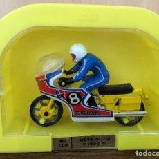 Motos in scale: MOTO GUZZI V 1000 65. REF 2308. MIRA. EN CAJA ORIGINAL. Lote 251978210