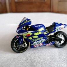 Motos a escala: ALTAYA 1/24 SUZUKI GSV-R KENNY ROBERTS JR 2002 MOTO GP. Lote 252109875
