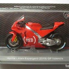 Motos a escala: MOTO GP 2019 - ALEIX ESPARGARO - APRILIA RS - (ESCALA 1:18) IXO N66 , MOTOS, GP VALENCIA (ESPAÑA). Lote 253444325