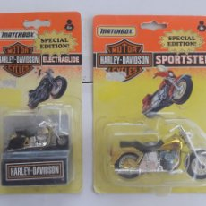 Motos a escala: LOTE 2 MOTO MATCHBOX, MOTOR CYCLES, HARLEY DAVIDSON ,SPECIAL EDITION 1992. Lote 254265715