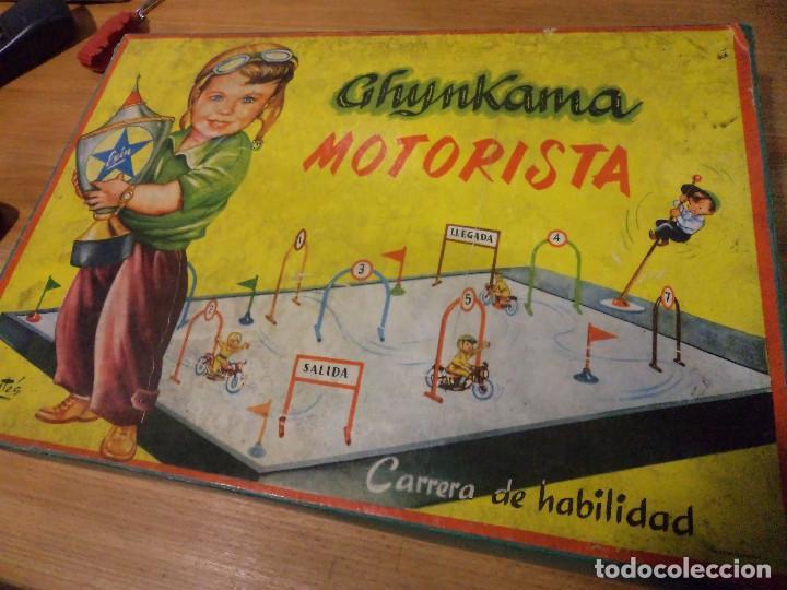 GHYMKAMA MOTORISTA (Juguetes - Motos a Escala)