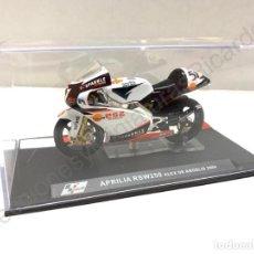 Motos a escala: MOTO GP APRILIA RSW250 / 2004 - ALEX DE ANGELIS (ESCALA 1:24) MOTOS,COMPETICION,MOTOGP. Lote 255946330