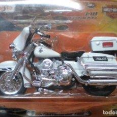 Motos à l'échelle: HARLEY-DAVIDSON ELECTRA GLIDE POLICE. Lote 258975905