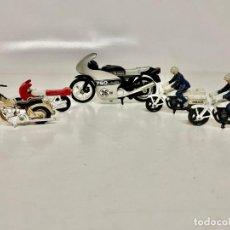 Motos em escala: LOTE DE 5 MOTOCICLETAS (MOTOS) 4 DE ELLAS MATCHBOX (LA GRANDE GRIS NO ES MATCHBOX). Lote 262033200