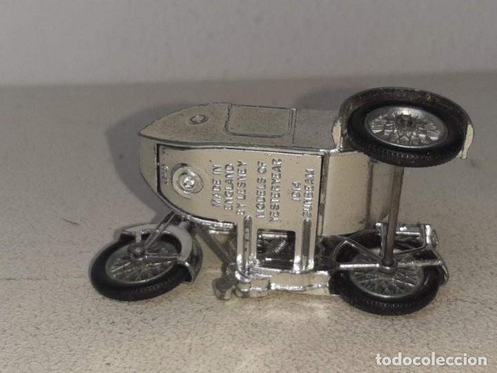 Motos a escala: MATCHBOX LESNEY : ANTIGUA MOTO SIDECAR SUNBEAM 1917 - MODELS OF YESTERYEAR - MADE IN ENGLAND AÑOS 60 - Foto 15 - 262768340