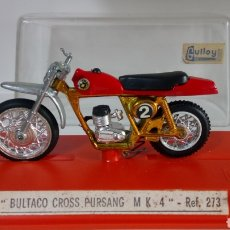 Motos in scale: MOTO BULTACO CROSS PURSANG MK4. REF. 273. MARCA GUILOY.. Lote 264120315