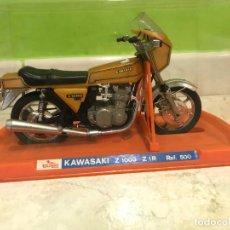 Motos a escala: JUGUETE KAWASAKI Z1000 Z1R REF. 500 GUILOY AÑOS 60/70. Lote 264266604