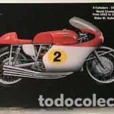 Motos in scale: MOTO MV AGUSTA 500CC 4 CLILINDRI, ESCALA 1:9 MODELO 4630,SIN CAJA. Lote 266483578