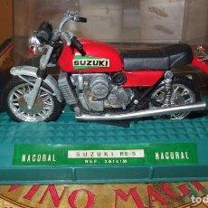 Motos in scale: MOTO SUZUKI RE-5,NACORAL,CAJA ORIGINAL. Lote 266775549