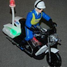 Motos a escala: MOTO MOTORISTA POLICE/POLICIA AMERICANO. Lote 268297209
