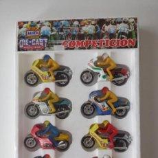 Motos a escala: EXPOSITOR MIRA DE MOTOS - HONDA, YAMAHA, SUZUKI, BMW....- AÑOS 80 - NUEVO PRECINTADO!!! - ERICTOYS. Lote 268852644