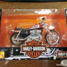 Motos a escala: MOTO HARLEY DAVIDSON ESCALA 1/18 MAISTO. Lote 272643928