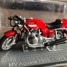 Motos a escala: VENDO MV AUGUSTA 750S - 1973. Lote 274337468