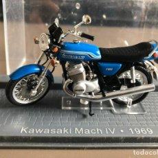 Motos a escala: VENDO KAWASAKI MACH IV - 1969. Lote 274337678