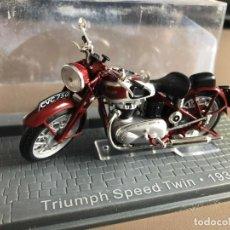 Motos a escala: VENDO TRIUMPF SPEED TWIN - 1938. Lote 274338733