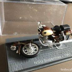Motos a escala: VENDO NSU SUPERMAX - 1961. Lote 274339353