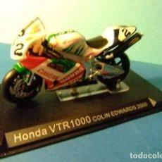 Motos a escala: HONDA VTR1000 COLIN EDWARDS 2000. Lote 274937478