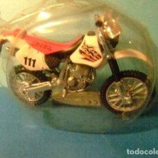Motos a escala: MOTO HONDA XR 400R. Lote 274938253