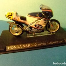Motos a escala: HONDA NSR 500 WAYNE GARDNER 1987. Lote 274938693