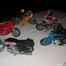 Motos in scale: LOTE 5 MOTOS 7 CM. Lote 275313013