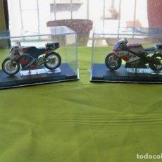 Motos a escala: MOTOS DE COMPETICIÓN A ESCALA YAMAHA R7, NORIYUKI HAGA 2000, HONDA NSR250 , SITO PONS 1988. Lote 276042123