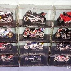 Motos a escala: LOTE DE 12 MOTOS COLECCION ALTAYA ESCALA 1:24. Lote 277050593