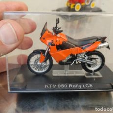 Motos a escala: MOTO KTM 950 ADVENTURE RALLY LC8, ESCALA 1/24. NUEVA. Lote 277418073