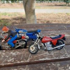 Motos a escala: LOTE DE TRES MOTOS GUISVAL DUCATI/KAWASAKI/ SUZUKI. Lote 278597353