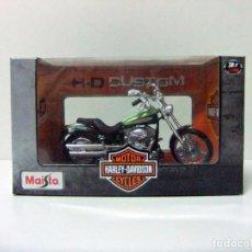 Motos a escala: HARLEY DAVIDSON 2004 FXSTDSE² CVO - MAISTO H-D CUSTOM ESCALA 1:18 - MOTO MOTOCICLETA BIKE TOY. Lote 283378338