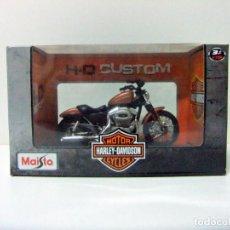 Motos a escala: HARLEY DAVIDSON 2007 XL 1200N NIGHTSTER - MAISTO H-D CUSTOM ESCALA 1:18 - MOTO MOTOCICLETA BIKE TOY. Lote 283379468