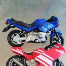 Motos a escala: MOTO BMW RS Y OTRA 13CM Y 10CM. Lote 283517328