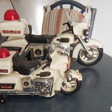 Motos a escala: MOTOS HIGHWAY PATROL POLICE AÑOS 90. Lote 284768933