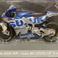 Motos in scale: MOTO GP JOAN MIR 2020 / GP EUROPA - SUZUKI GSX-RR (ESCALA 1:18) IXO,MOTOS. Lote 285226163