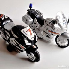 Motos à l'échelle: DOS MOTOS DE PASTA - DE 15.CM LARGO. Lote 285317663